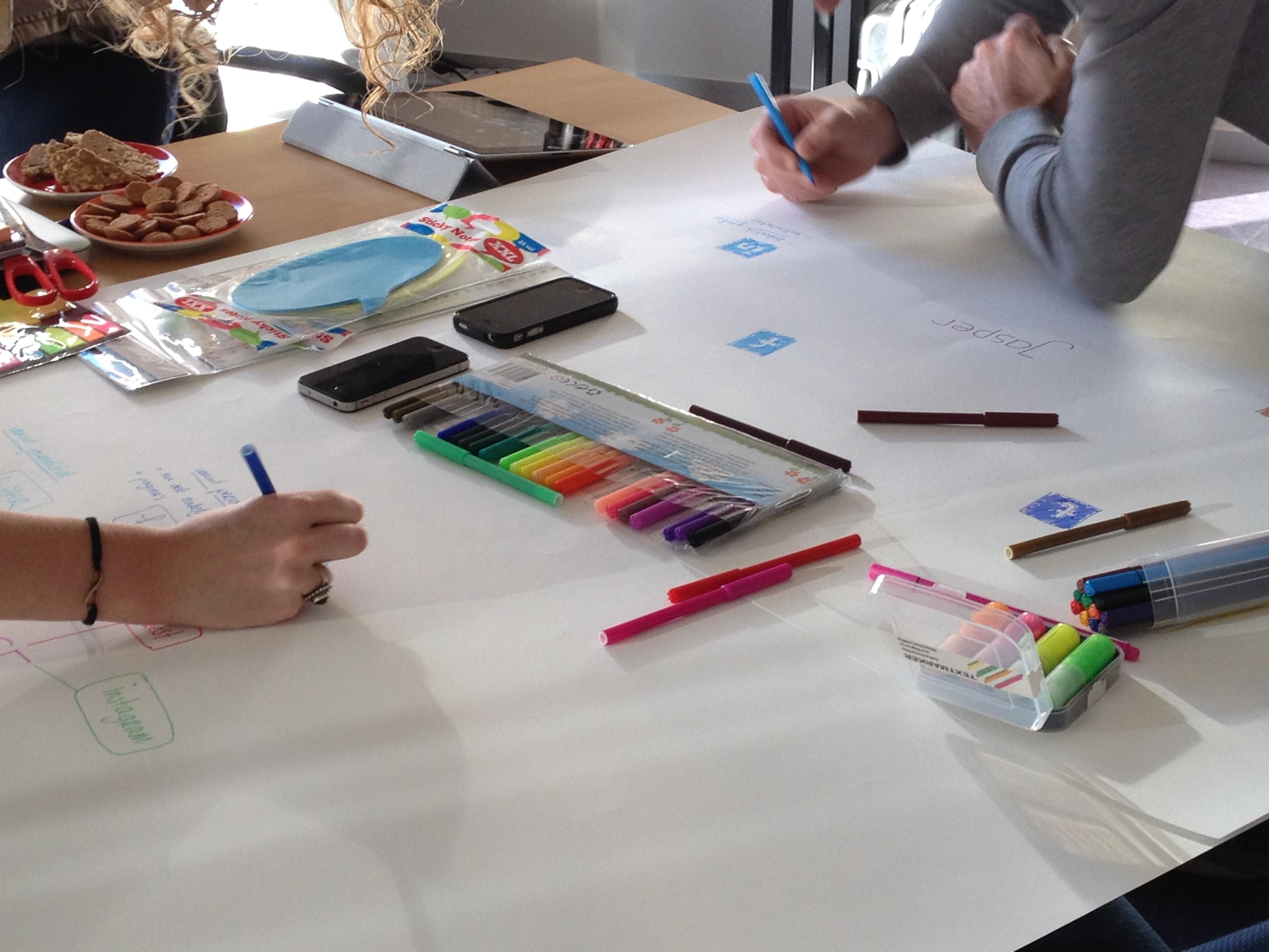 Workshop BE SOCIAL van Empower Your Brand