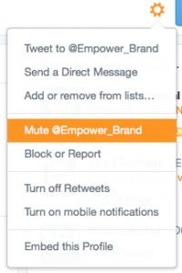 mute op twitter
