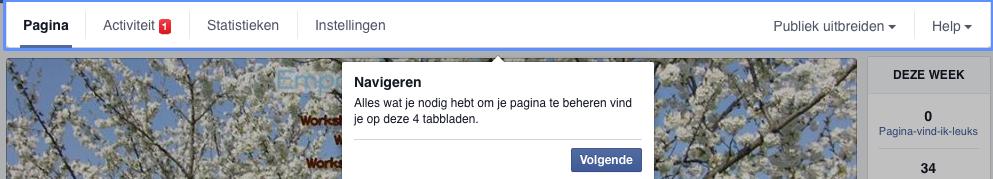 wijziging 3 Facebook