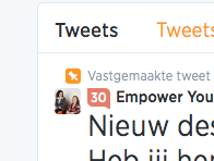 Klout score in Twitter