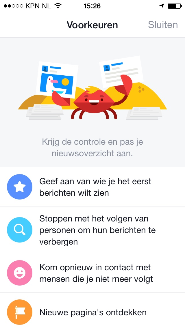 wie te volgen in Facebook